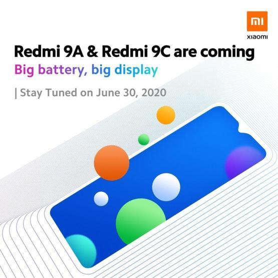 Xiaomi Redmi 9a 9c Teaser