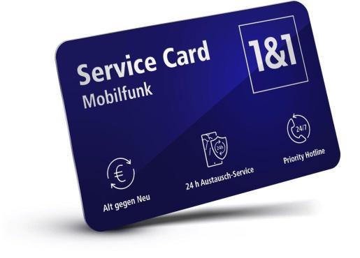 1und1 Service Card