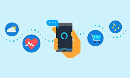 Amazon Alexa App Header