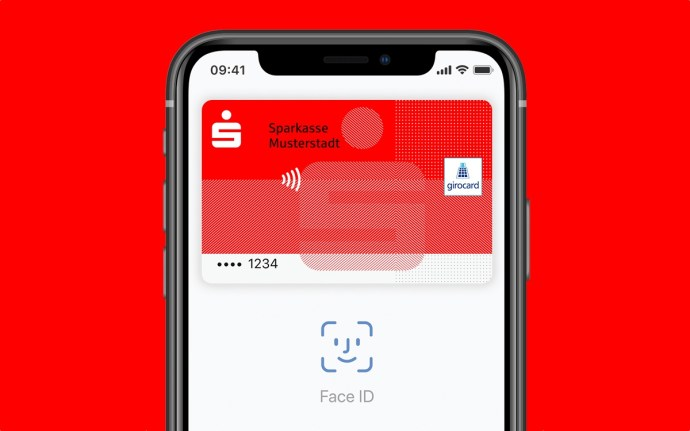 Apple Pay Girocard Sparkasse