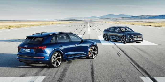 Audi E Tron S Sportback Lineup