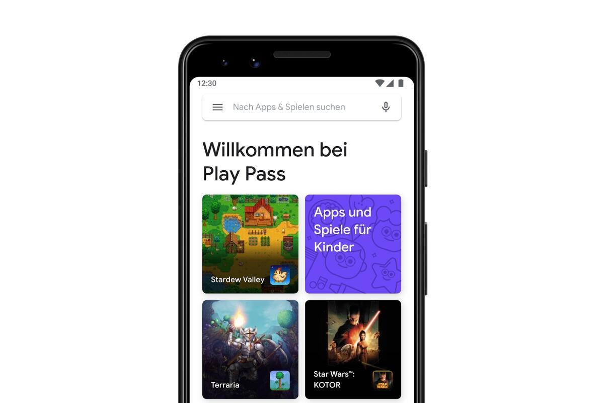 Google Play Pass Header