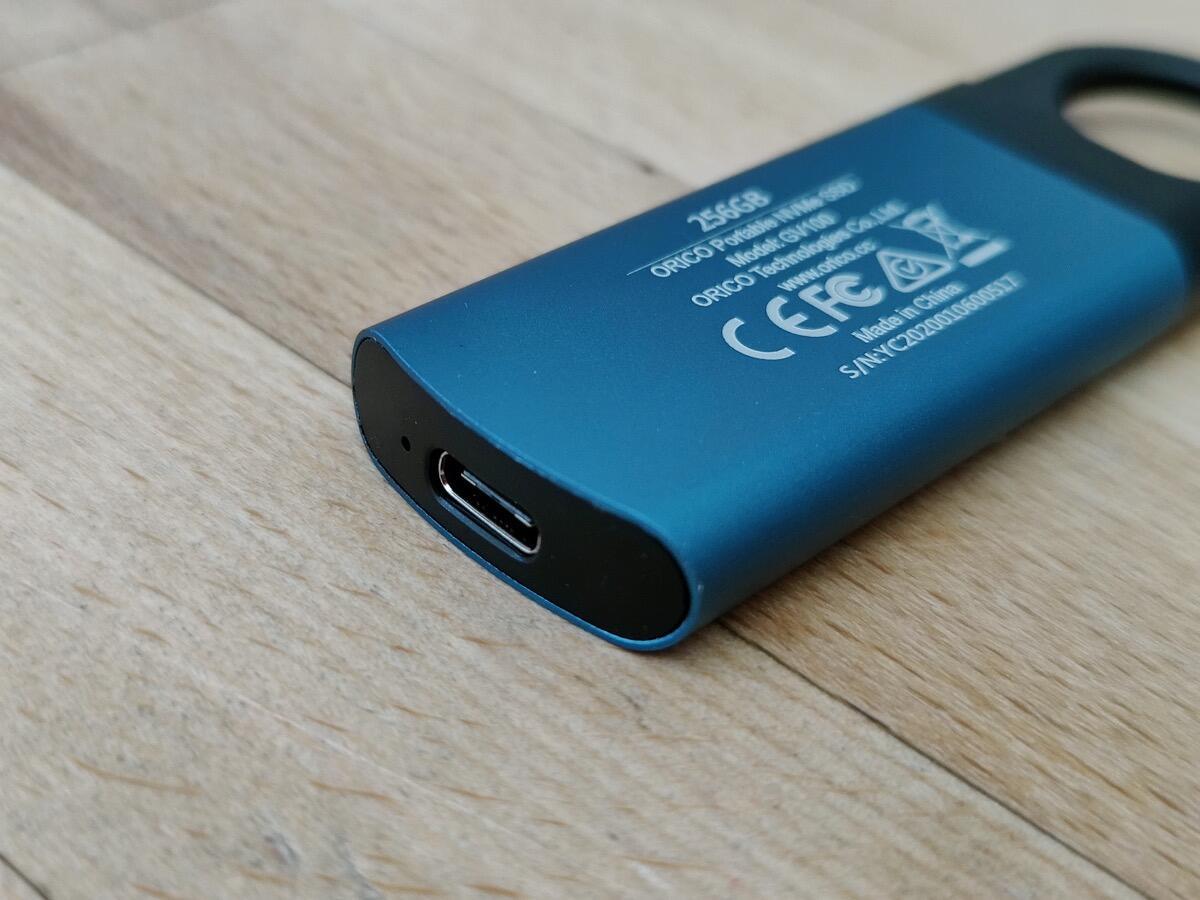 Orico Portable Nvme Ssd 256 Gb Typ C 09