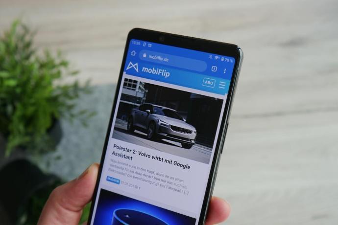 Sony Xperia 1 Ii Browser