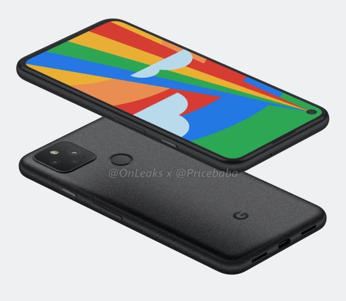 Google Pixel 5 Render 2