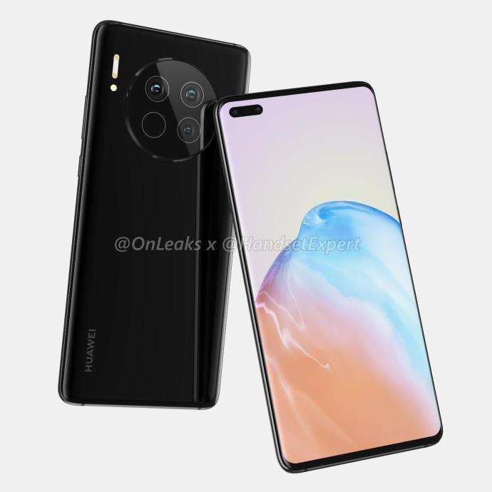 Huawei Mate 40 Render2