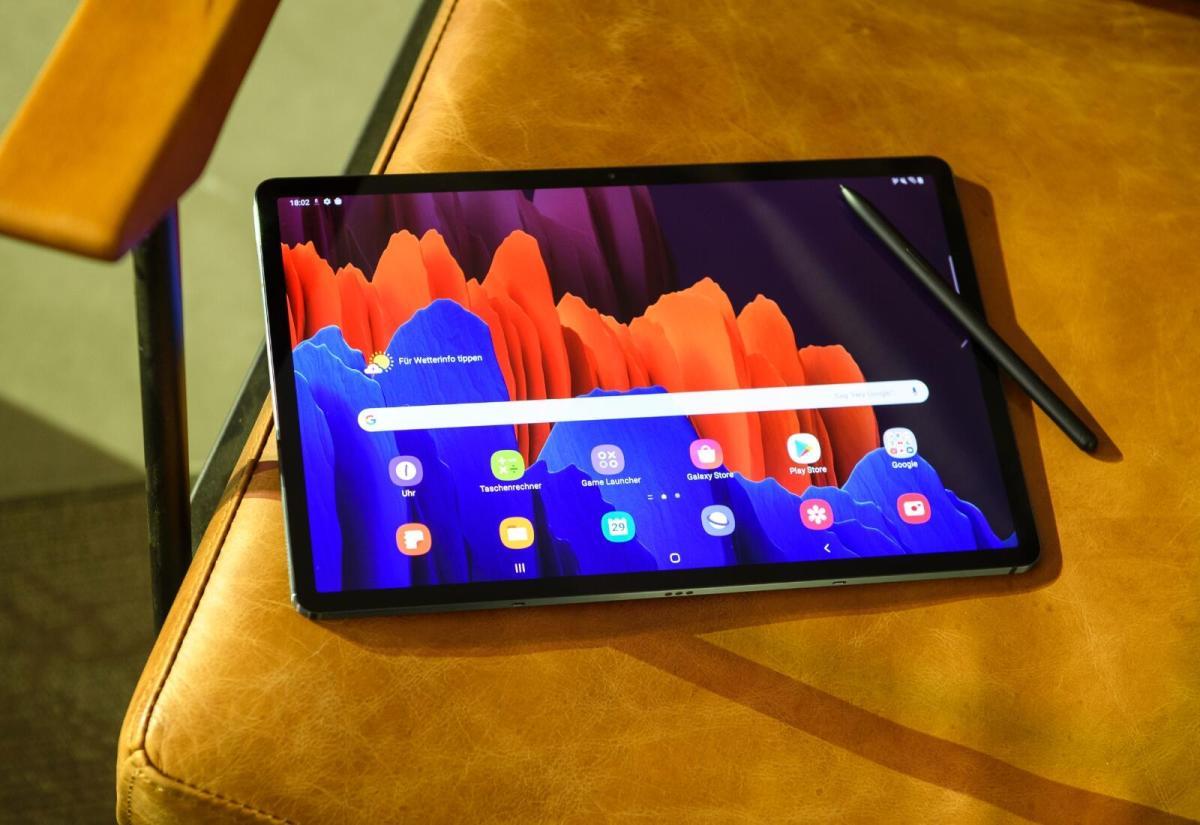 Samsung Galaxy Tab S7 Stuhl