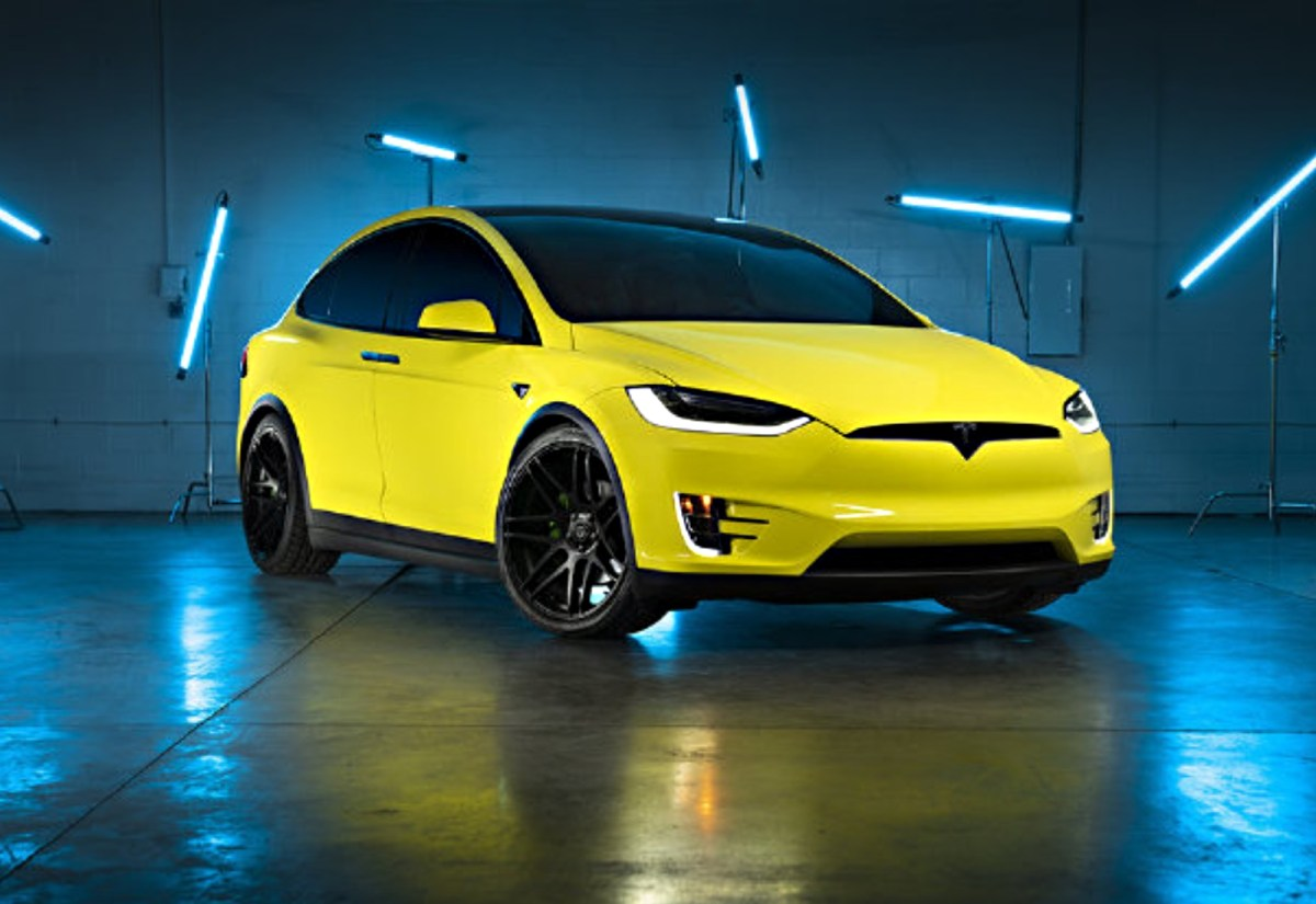 Tesla Folie China