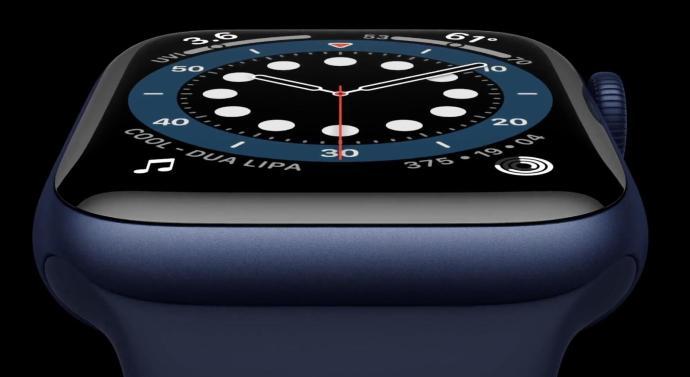 Apple Watch Series 6 Blau