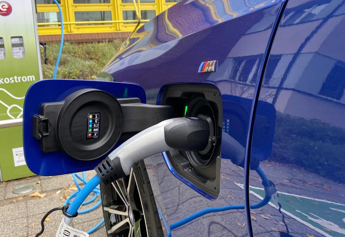 Bmw Elektro Auto Laden Lader