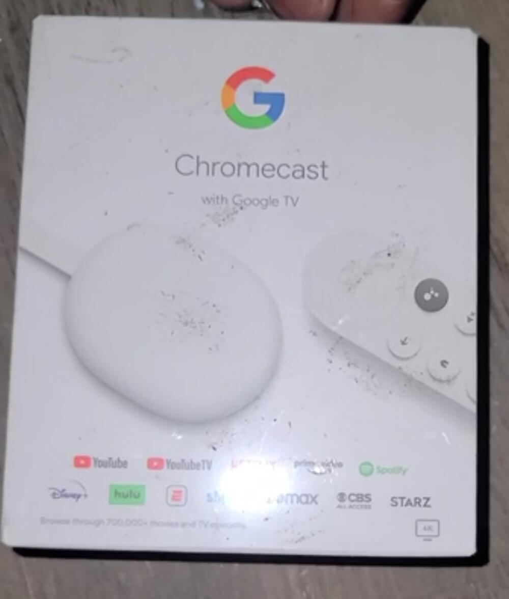 Chromecast Google Tv Verpackung
