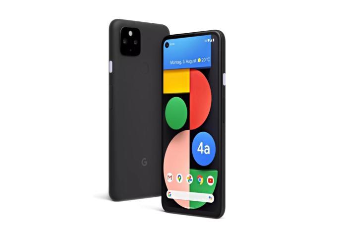 Google Pixel 4a 5g Schwarz Header