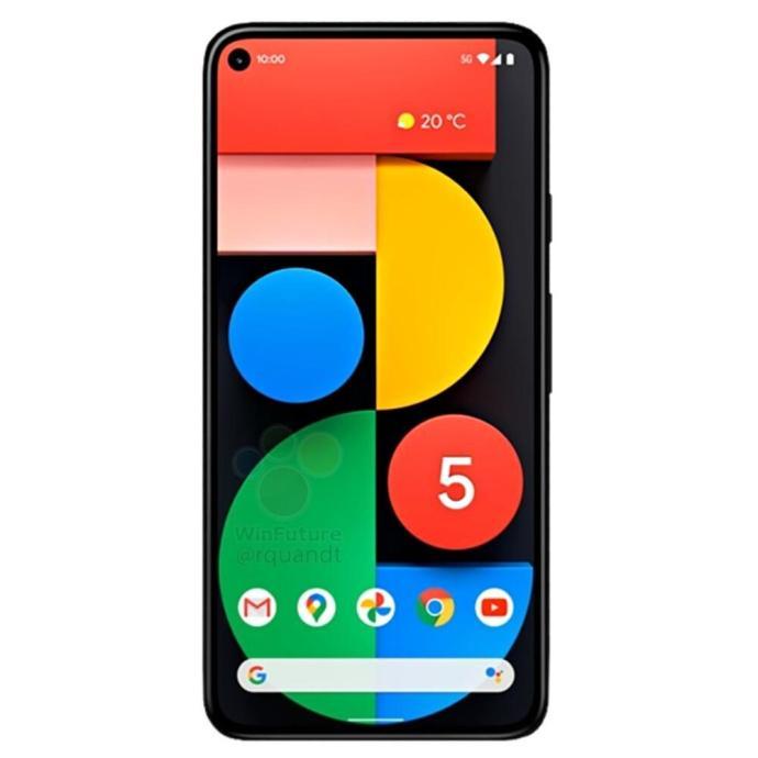 Google Pixel 5 Front Leak
