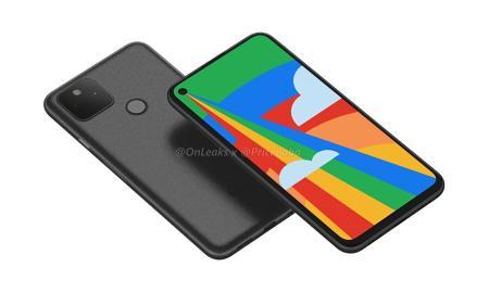 Google Pixel 5 Render Header
