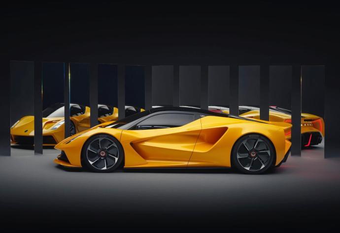 Lotus Evija Seite