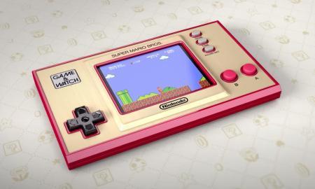 Nintendo Game Watch Mario Header