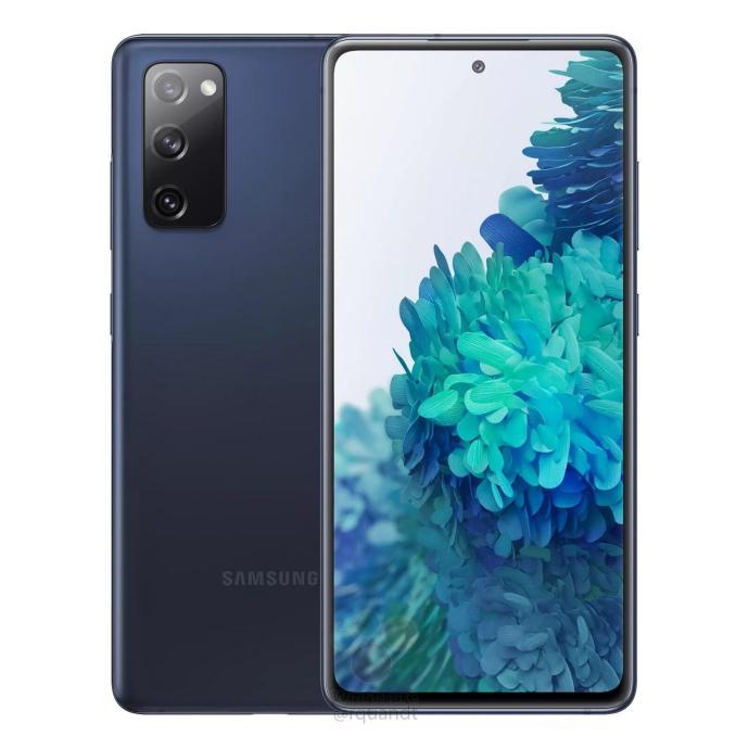 Samsung Galaxy S20 Fe Leak Blau