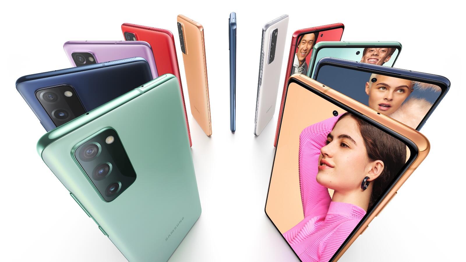 Samsung Galaxy S20 Fe Marketing