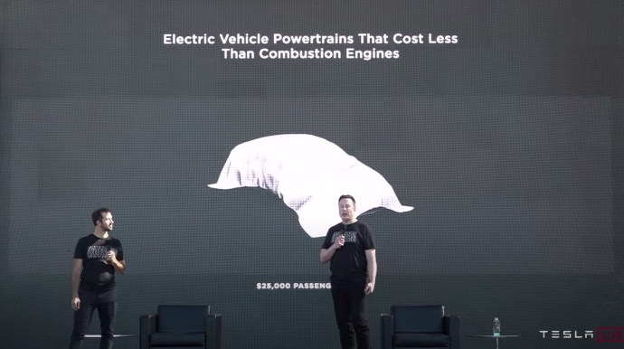 Tesla 25000 Dollar Auto