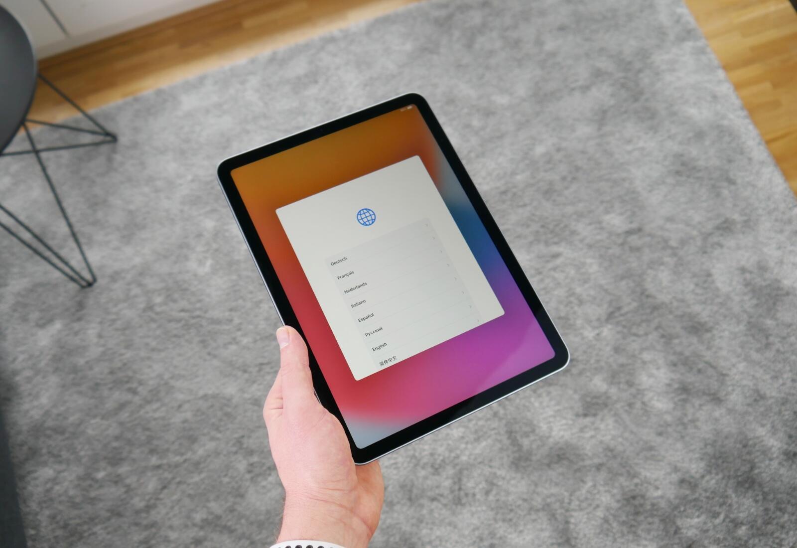 Apple Ipad Air 4 Display