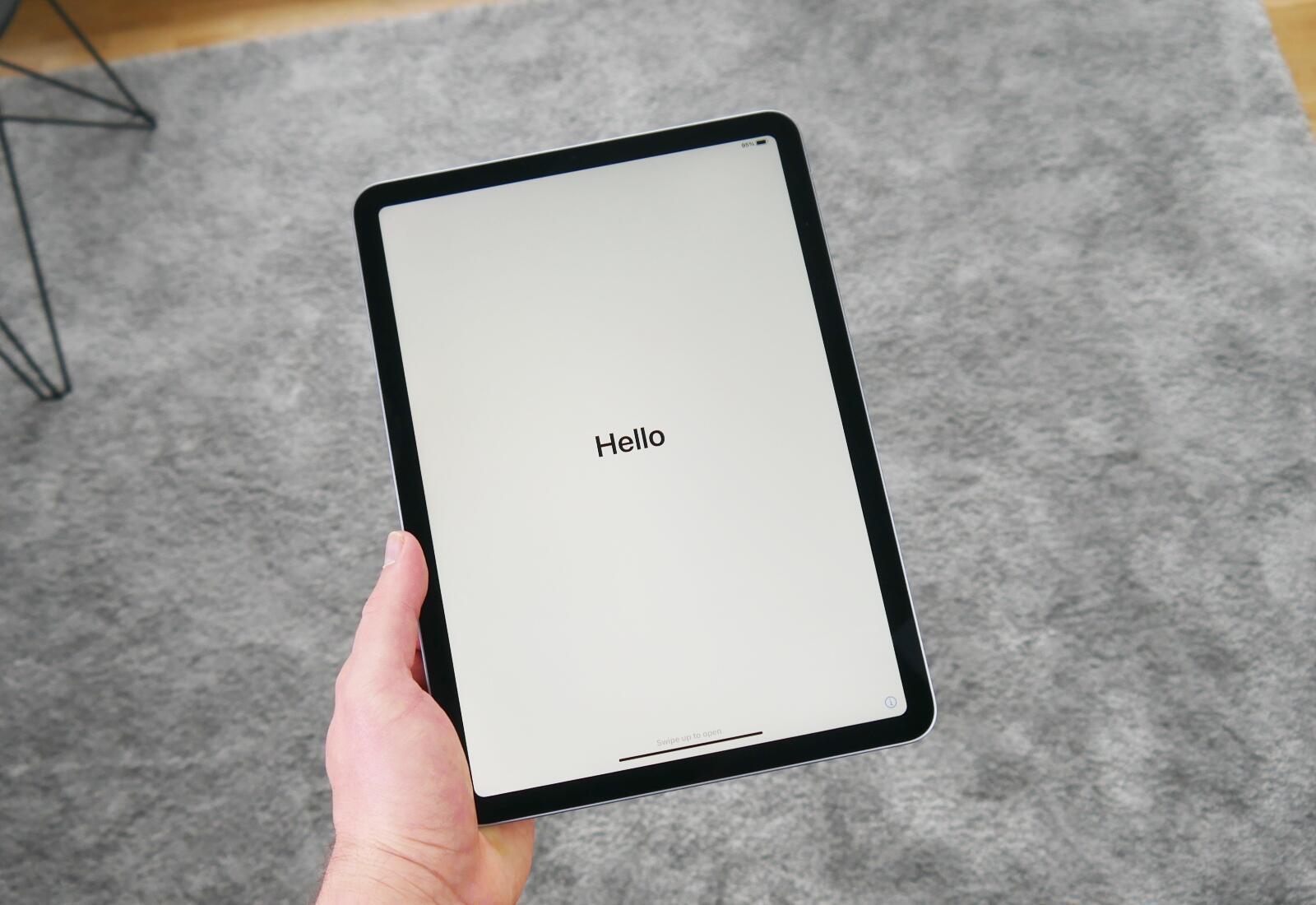 Apple Ipad Air 4 Hello