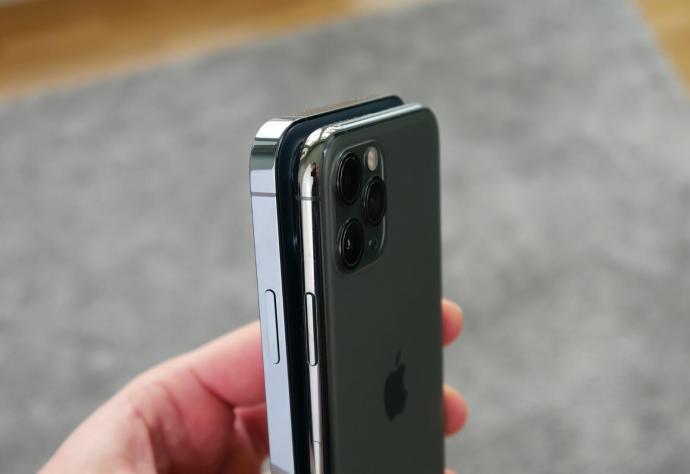 Apple Iphone 12 Pro 11 Pro Seite