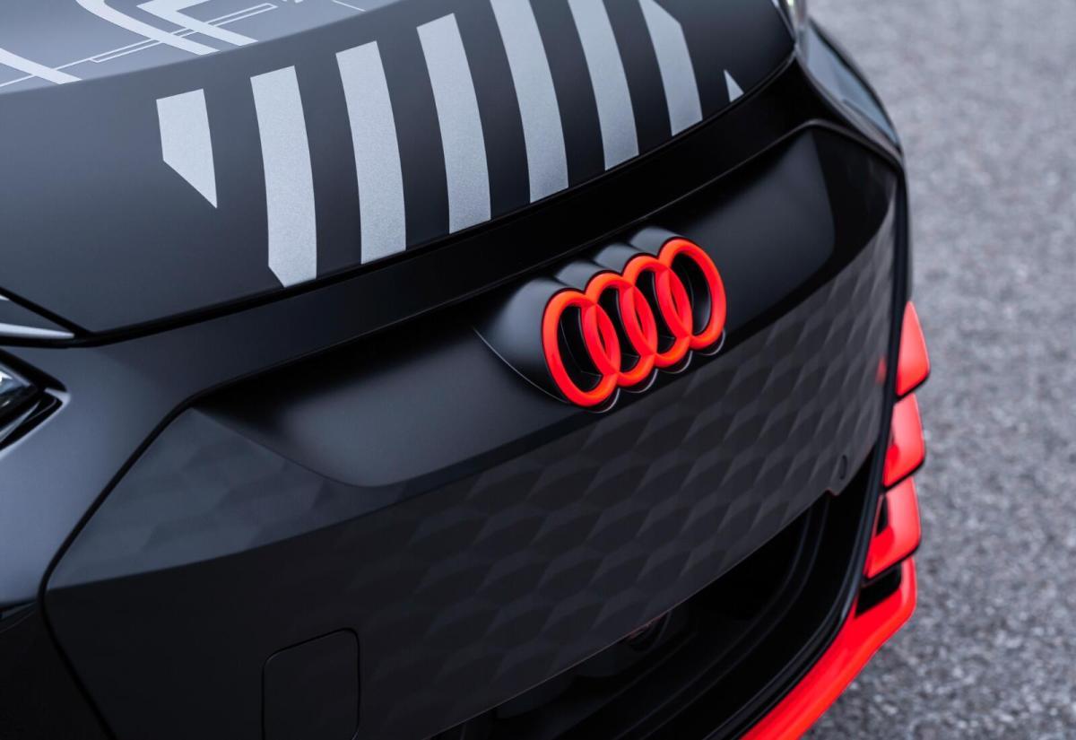Audi E Tron Gt Prototyp Logo Header