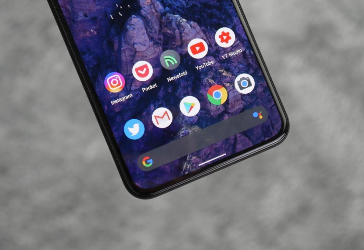 Google Pixel 5 Apps Detail