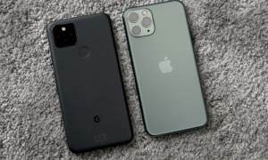 Google Pixel 5 Iphone Back
