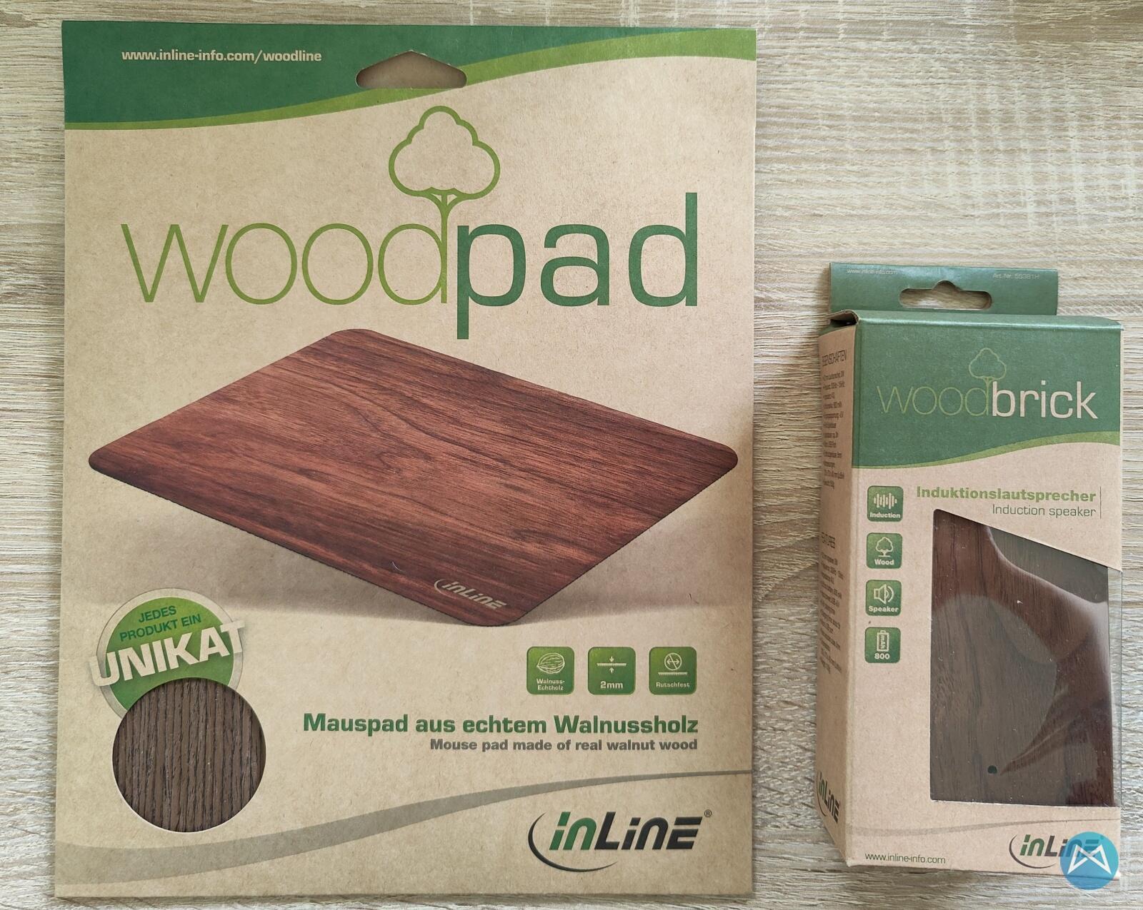 Inline Woodpad Und Woodbrick