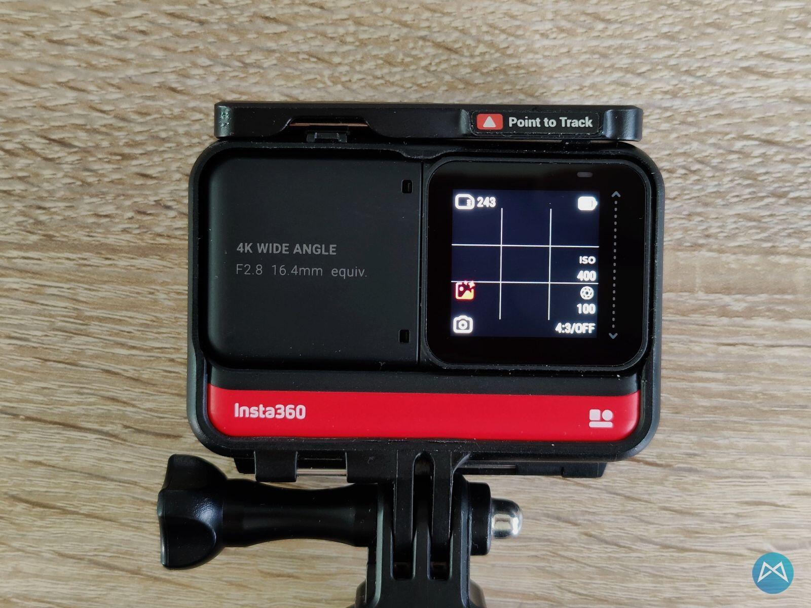 Insta360 One R Display