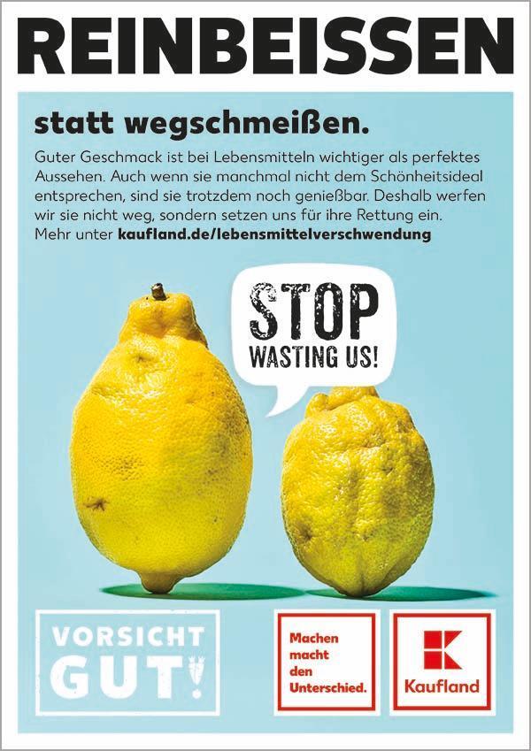 """Kaufland Startet """"vorsicht Gut!"""" Kampagne"""