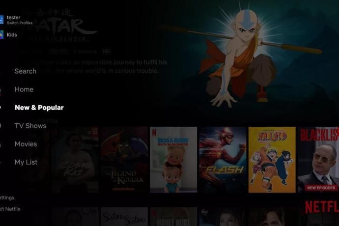 Netflix New Popular