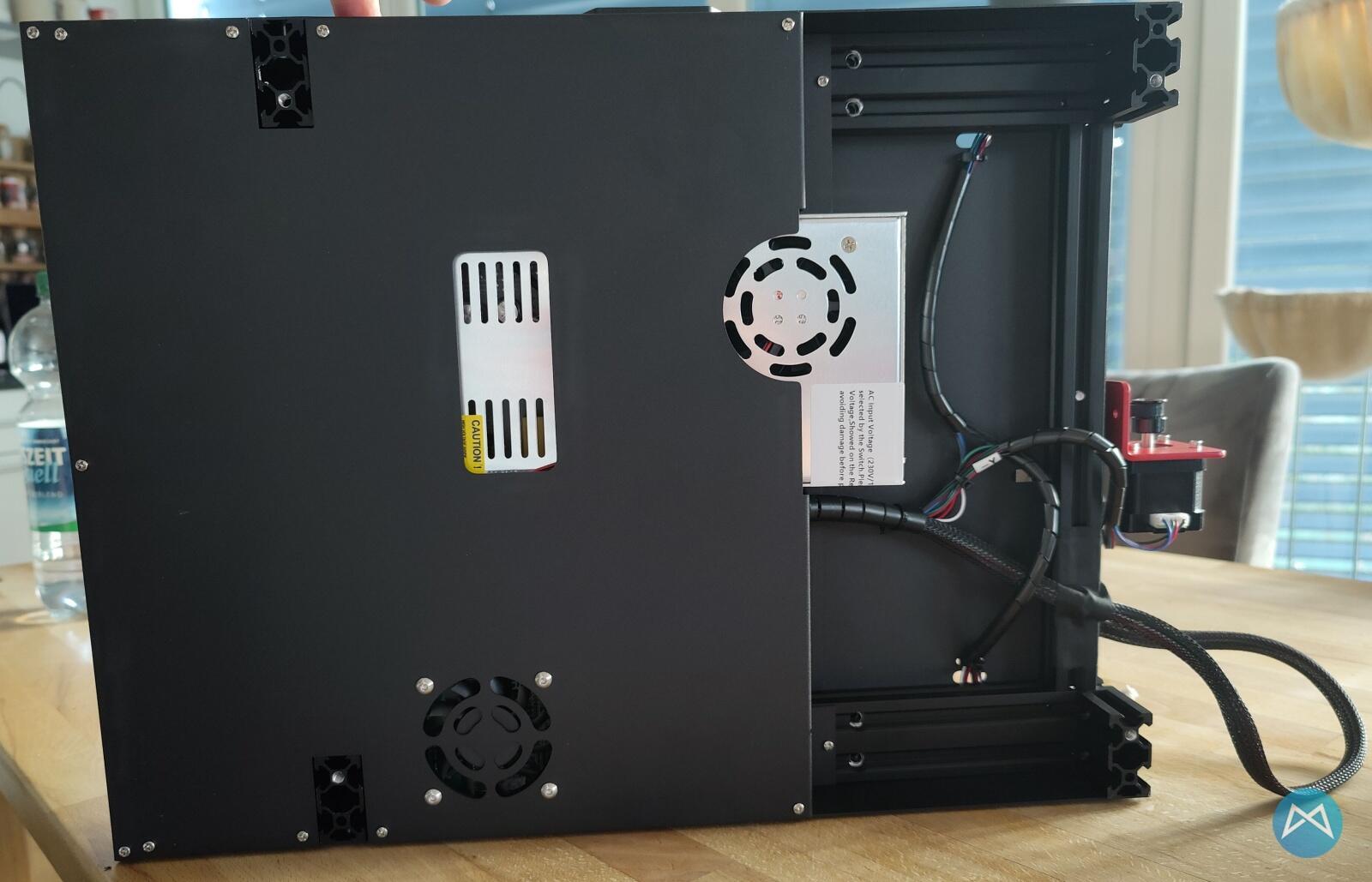 Ortur Obsidian 3d Drucker Printer Unterseite