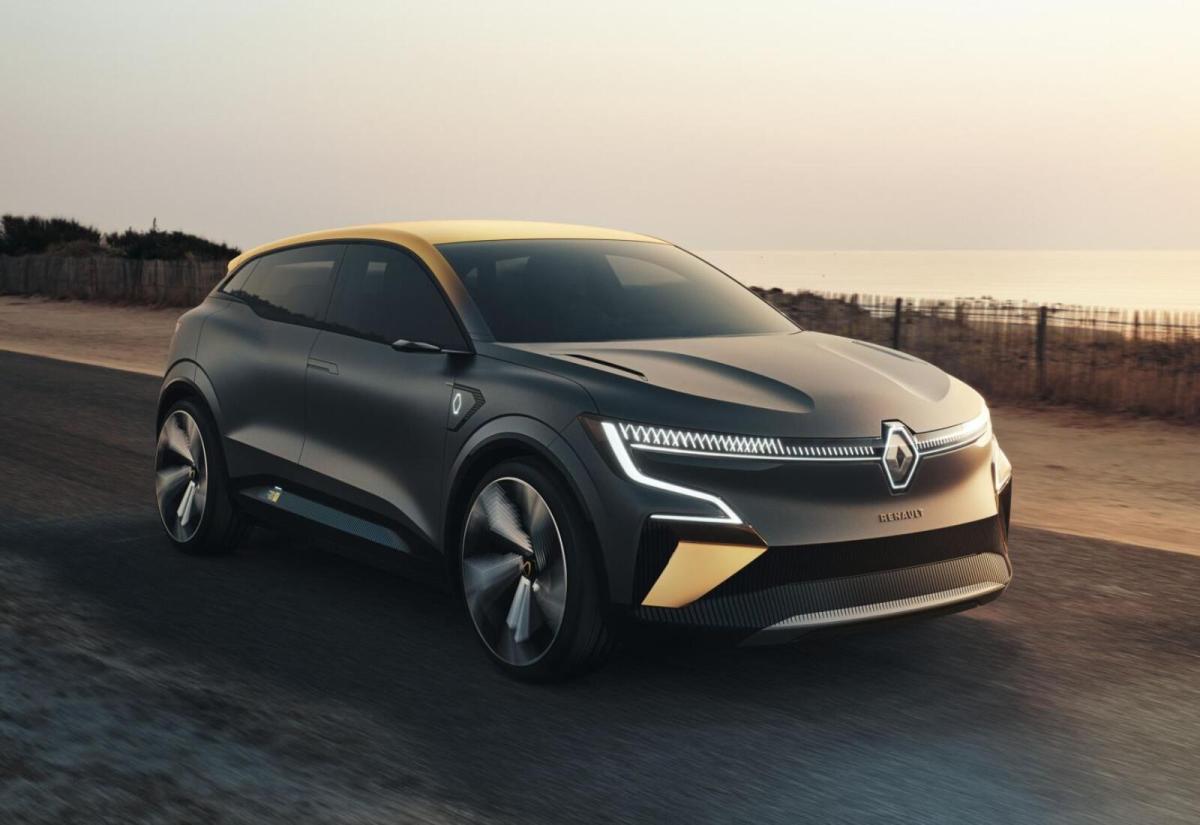 Renault Elektro Megane Front Header