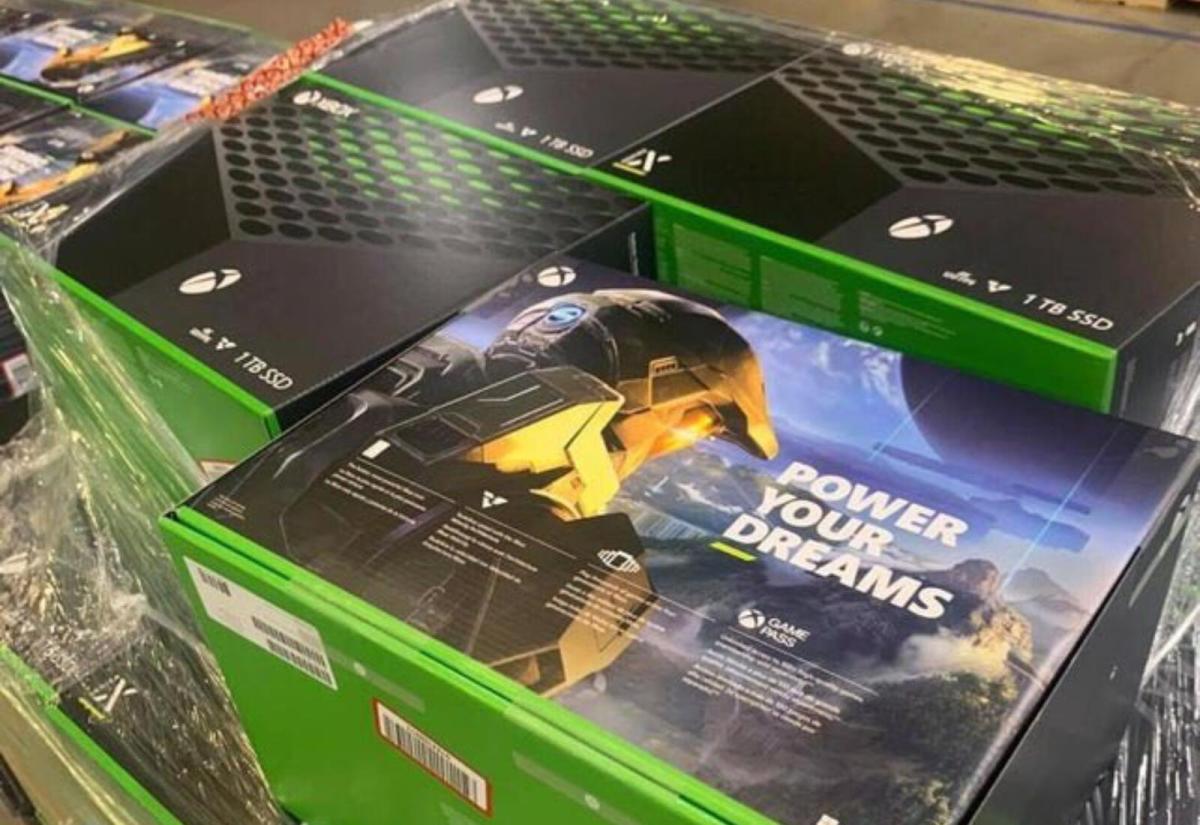Xbox Series X Boxen