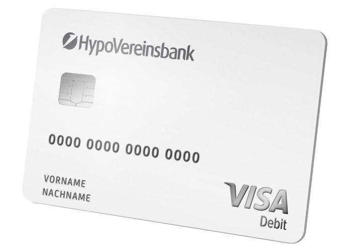 04 Hvb Visa Debit Karte