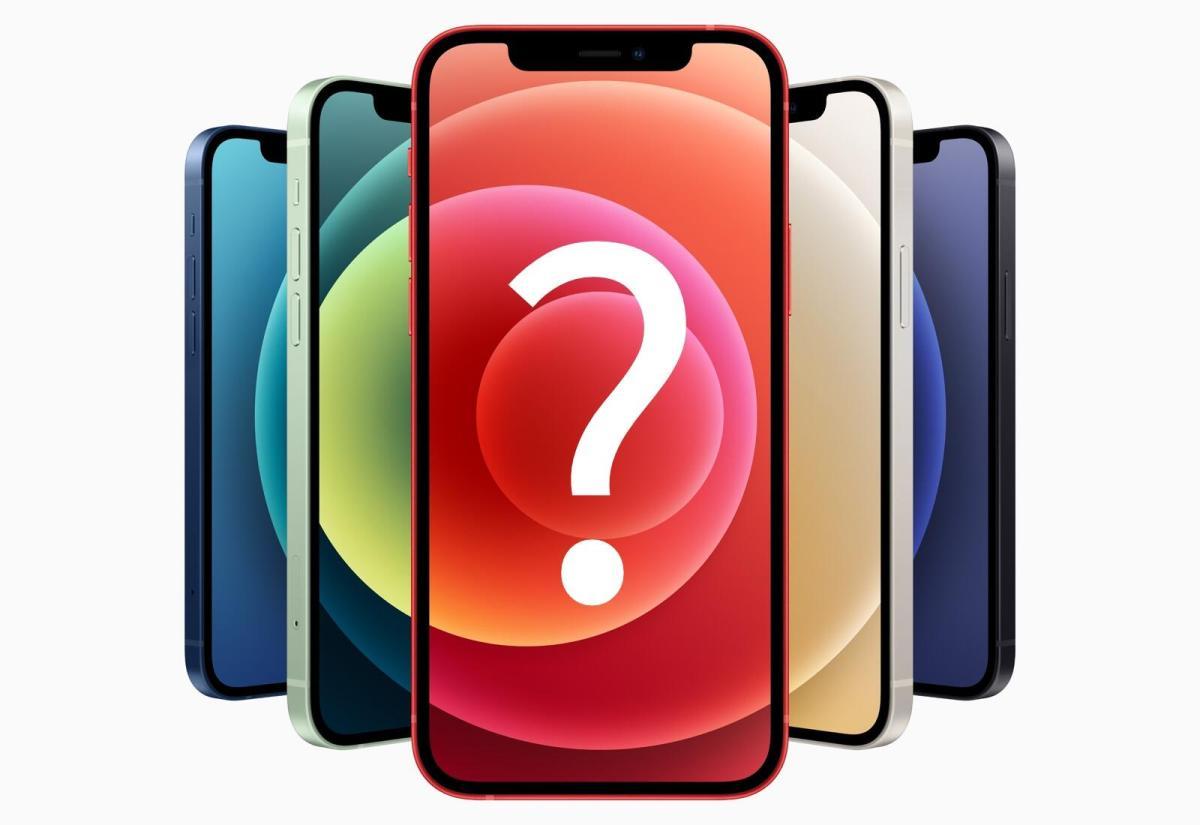 Apple Iphone 12 Header Fragezeichen