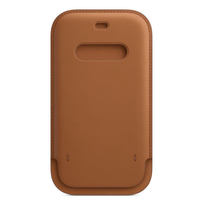 Apple Iphone 12 Leder Case Front