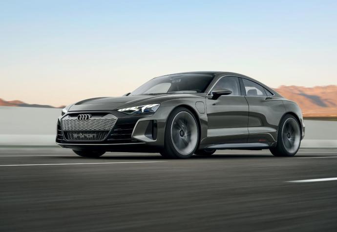 Audi Etron Gt Konzept Front