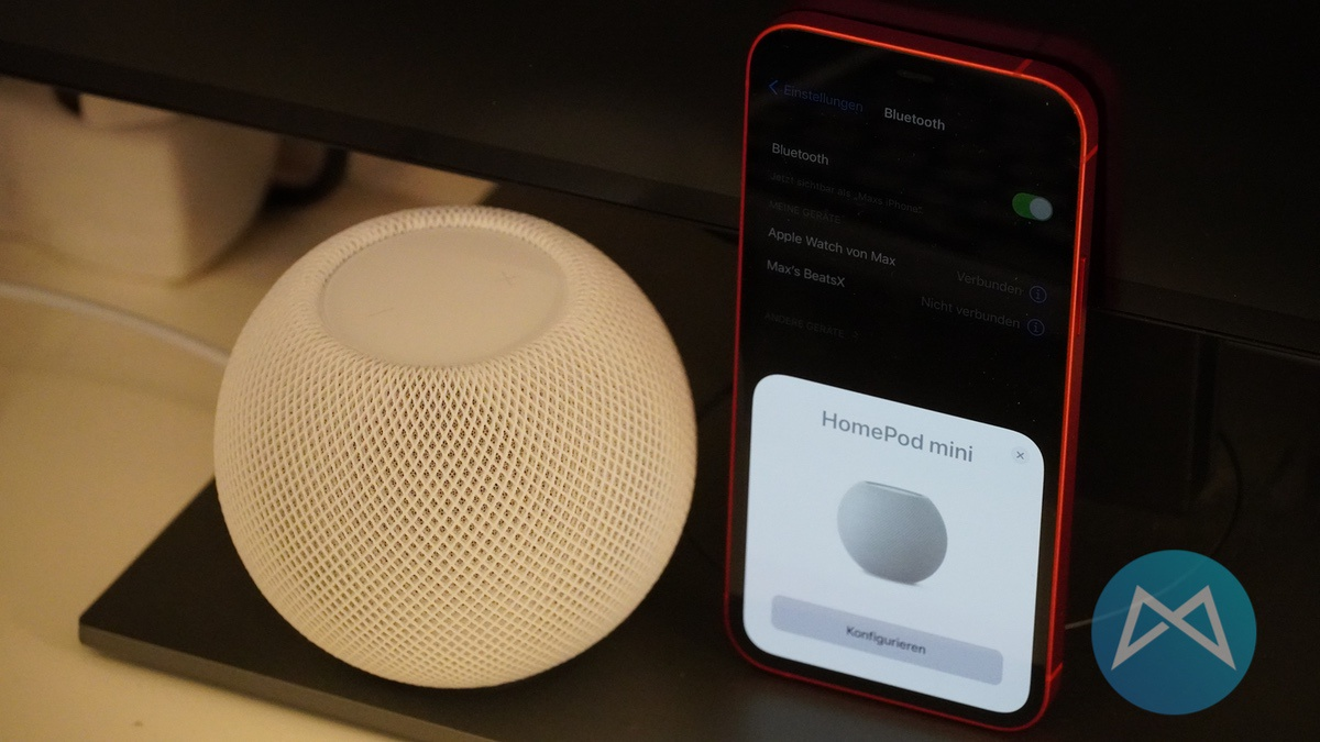 Homepod Mini Konfiguration