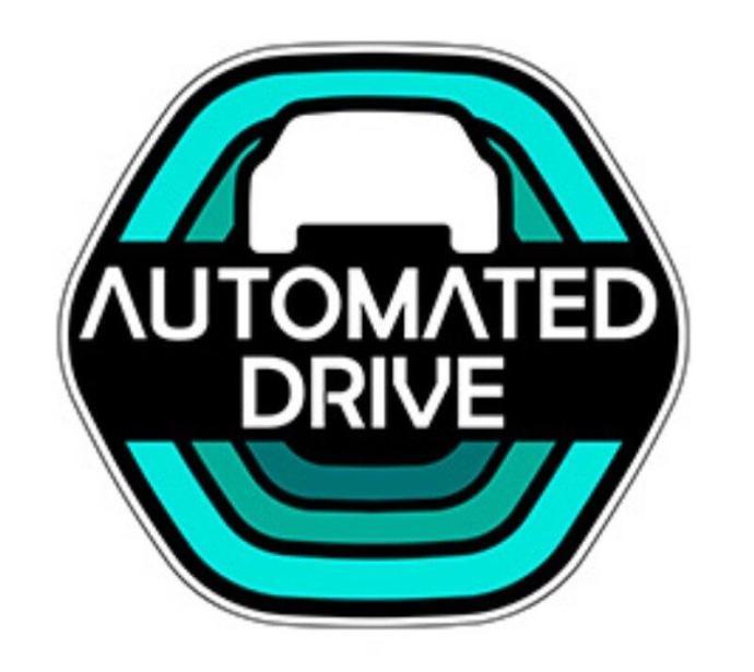 Honda Automated Drive Sticker
