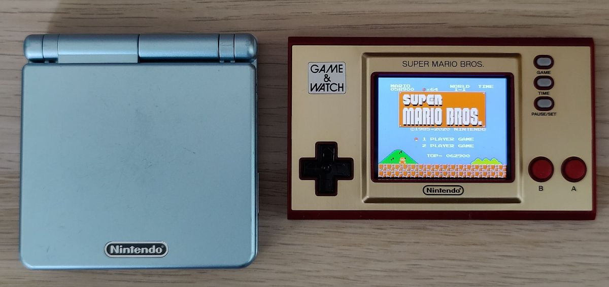 Nintendo Game And Watch Super Mario Edition 2020 Vergleich Gba