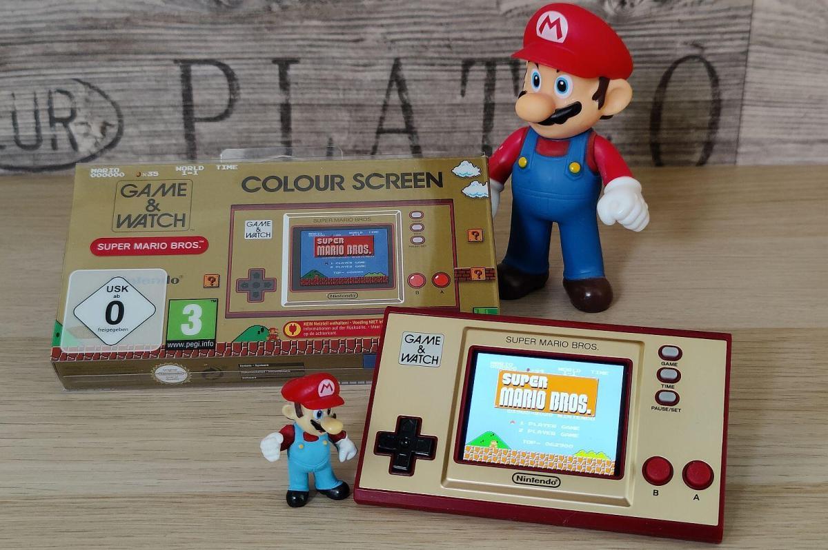 Nintendo Super Mario Game N Watch Header