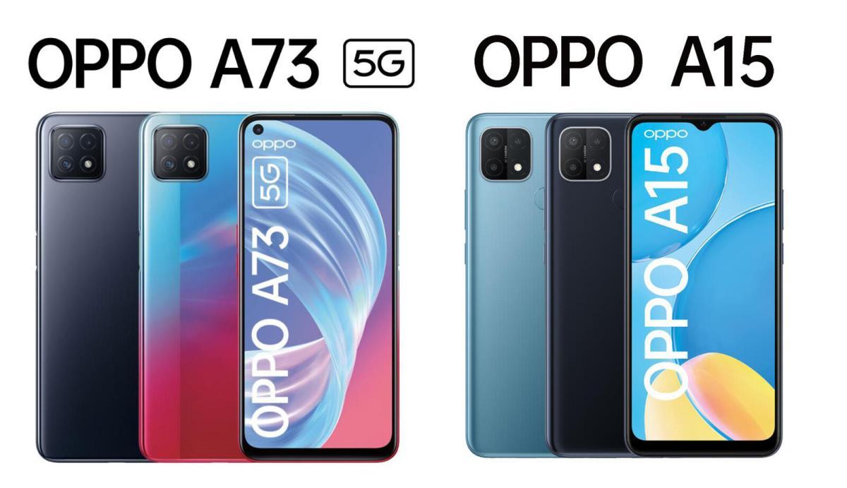 Oppo A73 5g Oppo A15