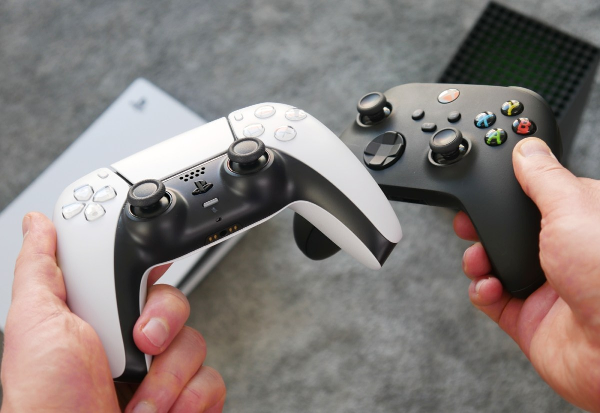 Playstation 5 Xbox Series X Controller Header