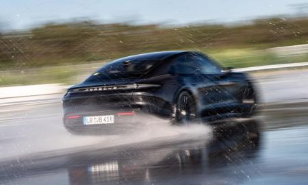 Porsche Taycan Drift Header
