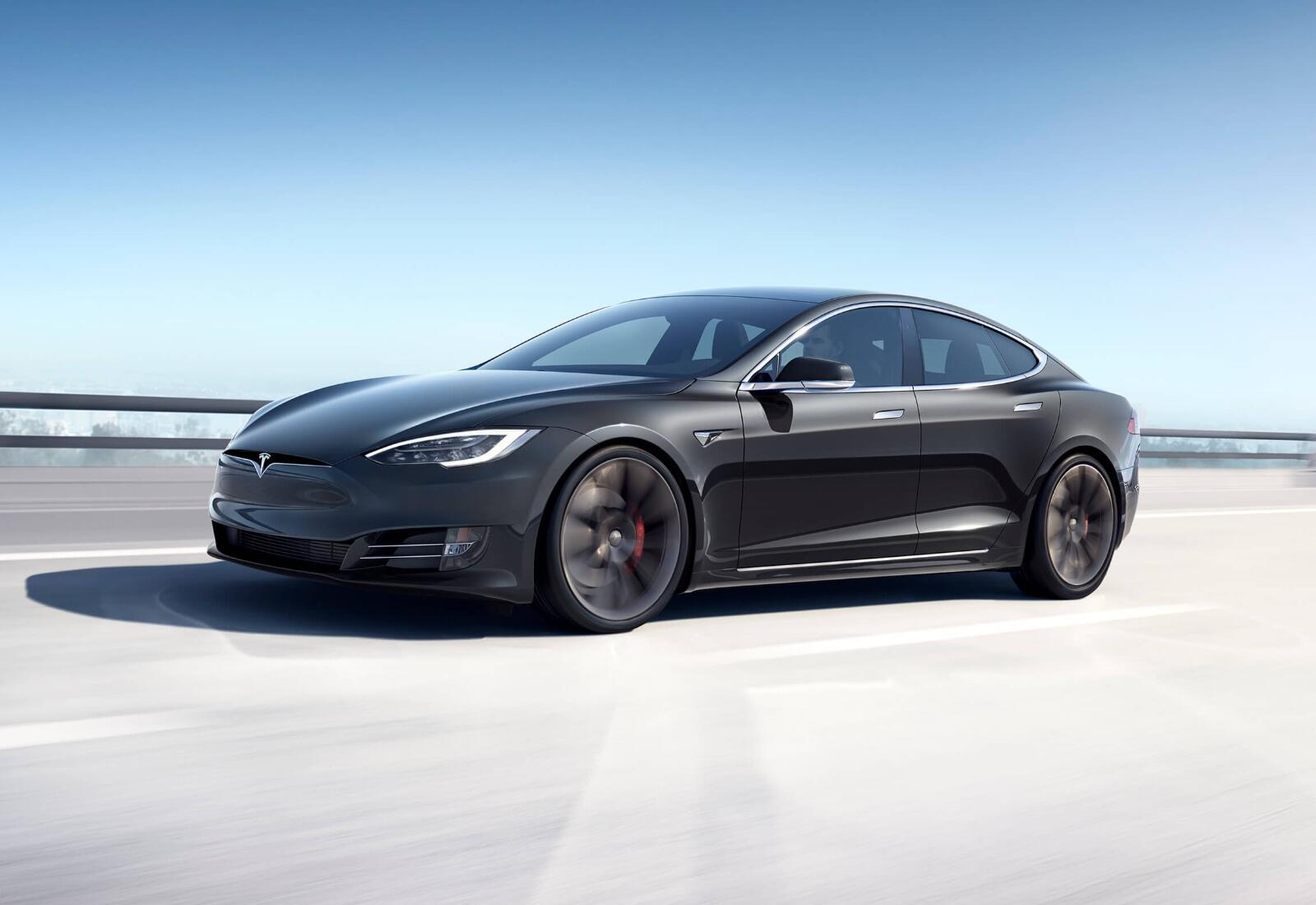 Tesla Model S 2020 Header