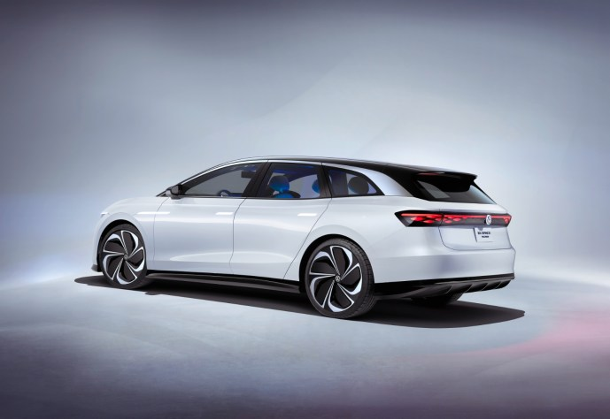 Volkswagen Vw Id Space Vizzion Back