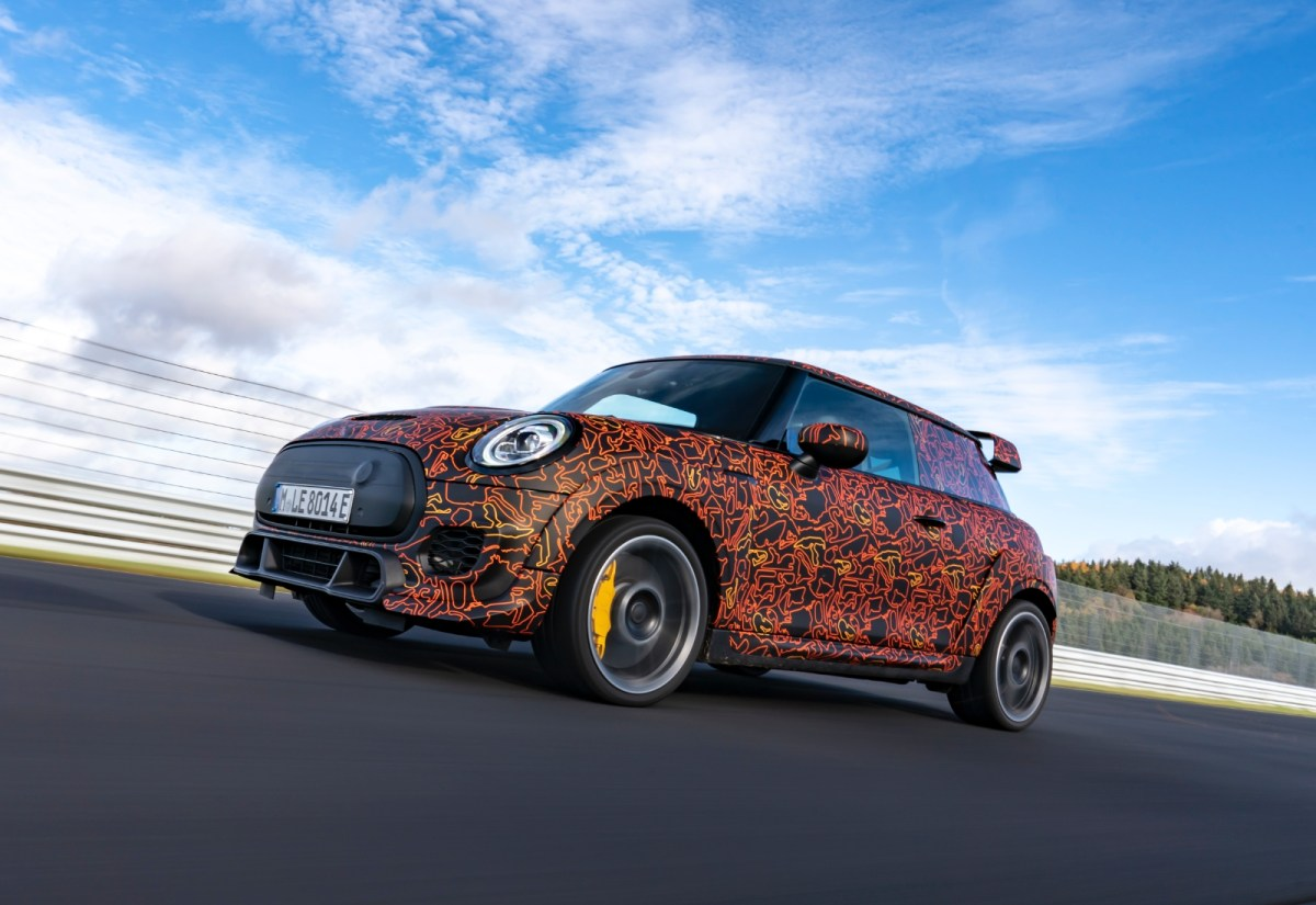 Bmw Mini Elektro John Cooper Works Header
